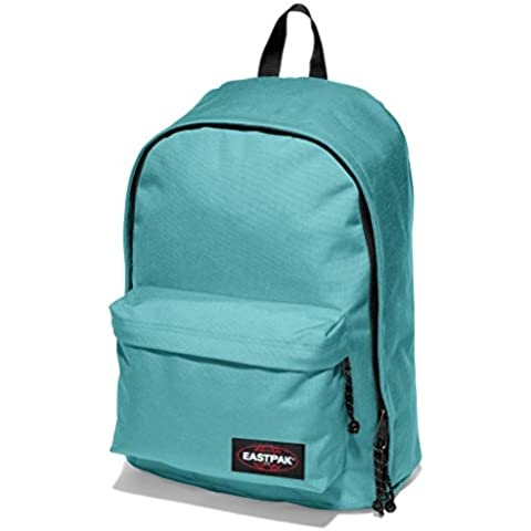Eastpak Out Of Office Mochila Tipo Casual, Diseño Watergun, 27 Litros, Color Azul