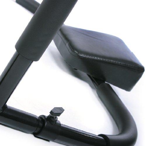 Bauchtrainer / Bauchmuskeltrainer Fitnessgerät für Sit-Ups Rückentrainer - 2