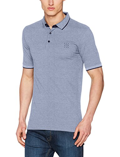 Only Onsstan Ss Fitted Polo Tee Noos, T-Shirt Uomo Blu (Dark Blue)