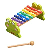 Hongji HJD931142A Wooden Animal Xylophone Toy