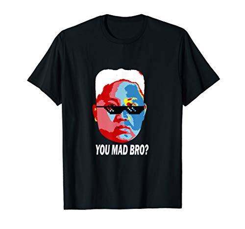 Lustiges Kim Jong Un Präsident Nordkorea Satire T-Shirt
