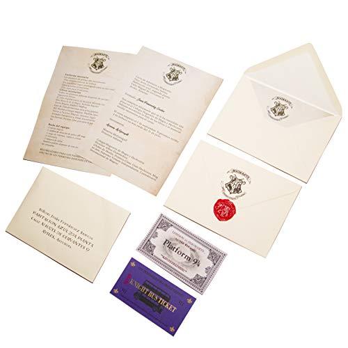 Pack Carta aceptación Hogwarts Castellano