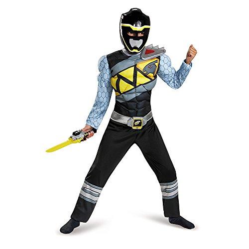 Black Power Ranger Dino Charge-Kostüm für -