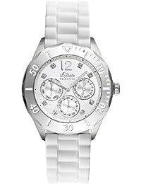 s.Oliver Damen-Armbanduhr mit wechselbaren Bänder - SO-2252-PM