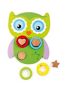 Legler - Motricidad lechuza de madera, juguete para bebés (5839.0)