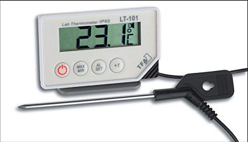 TFA Thermomètre de laboratoire LT-101 Gamme de température de -40 à +200°C °C