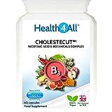 Vitamin B3 Niacin (Nicotinic Acid) 25mg & Botanicals Complex 60 Capsules (V) | Health4All Cholestecut
