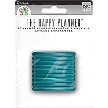 Me and my big Ideas schaffen 365Planer Expander Ringe–Blaugrün 4,4° cm, Weitere, mehrfarbig