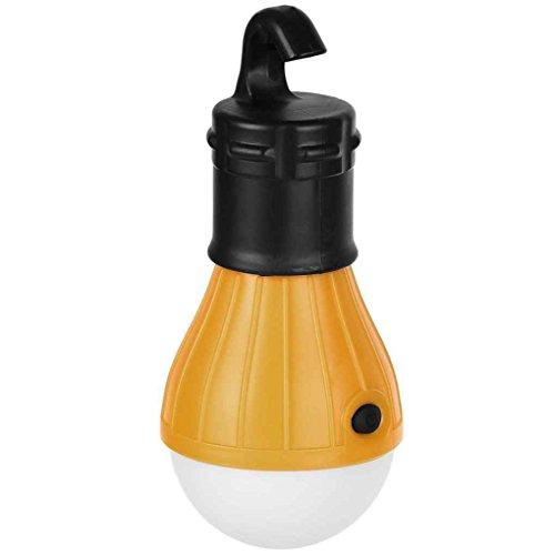 Birne Led Outdoor Laterne (Florallive High Power Soft Light tragbare Hänge 3 LED-Licht Outdoor-Camping-Zelt-Laterne-Fischen-Licht-Birnen-Lampe)