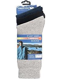 Trespass Men's Sliced Winter Socks (3 Pair)