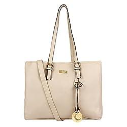 Cathy London Women's Handbag (Beige, Cathy-230)