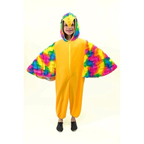 Kostüm Papagei Pitti Gr. 104, 116 Kinderfasching Tierkostüm Vogel Zoo Dschungel (128) (Bunter Vogel Kostüme)