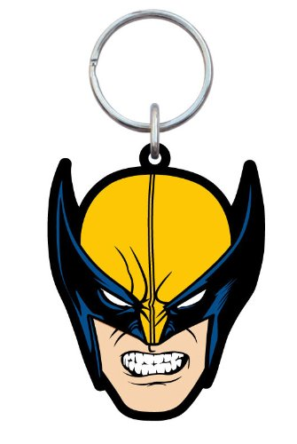 Marvel Wolverine Head Soft Touch Pvc Keychain (5Cm)