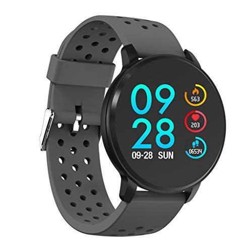 Bluetooth Smart Armband, mit Wasserdichtem IP67 Herz Frequenz Messer Smartwatch Aktivitätstracker Pulsuhren Schrittzaehler Uhr für Damen Herren für iOS Android - Sport im Freien für Fettverlust