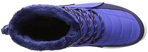 Botte D'hiver Puma St, Stivali Arricciati Donna Blu (profondeurs Bleu-bleu Baja)