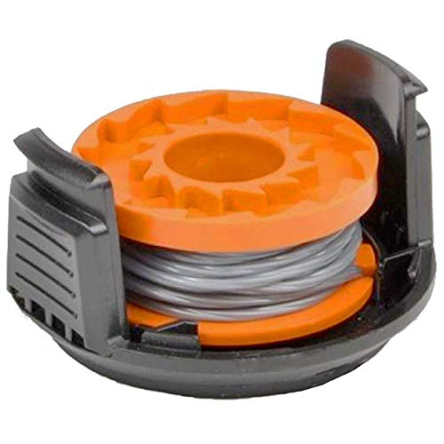 SPARES2GO 2.5m Line Spool & Cover for Qualcast CGT18 CGT36 Strimmer Trimmer 1.5mm