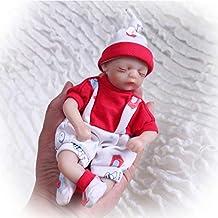 Nicery Reborn Baby Doll Muñeca Renacida Vinilo de Silicona de Simulación Suave 8 Pulgadas 20cm Realista