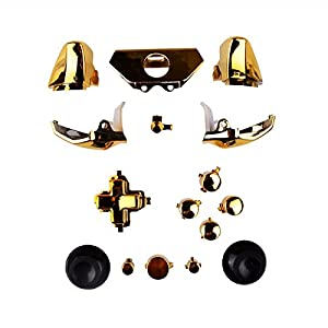 XBOX ONE Full Button Set Chrom-Optik – Gold