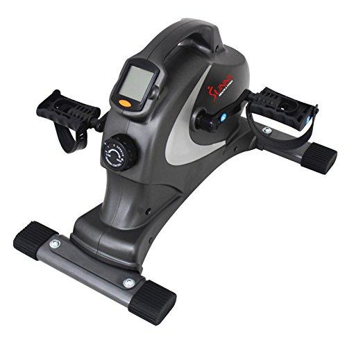 SUNNY salud y Fitness Mini bicicleta de ejercicio Magnético sf-b0418, Gray