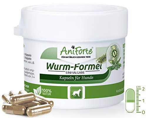 AniForte Wurm-Formel 10 Kapseln- Naturprodukt für Hunde