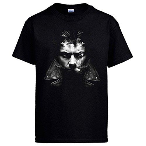 Camiseta X-Men Lobezno fumando - Negro, L