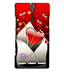 EagleHawk Designer 3D Printed Back Cover for Sony Xperia SL - D1123 :: Perfect Fit Designer Hard Case