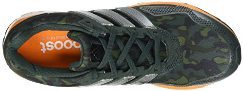 adidas Response 2 Graphic M, chaussure de course homme Grey / Naranja / noir (Vermin / Eqtnar / Negbas)
