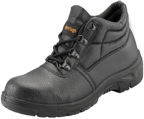 WorkTough 10014A Safety Chukka Boot - Black Size-14 UK / 49 EU