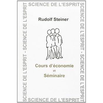 Cours d'économie et séminaires