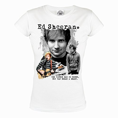 Rule Out Women T-Shirt. Ed Sheeran. Ed Sheeran Fans. Casual. 100% Cotton (Größe Small) (Damen-t-shirts Baumwolle Thai)