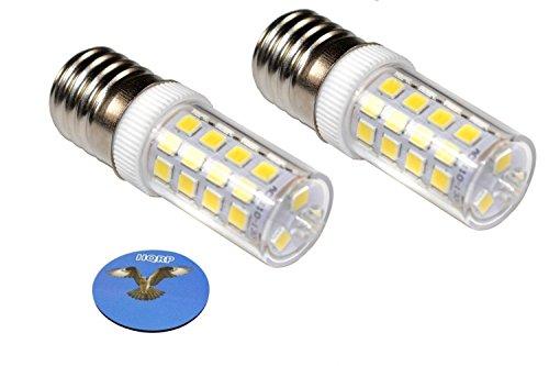 hqrp-2-pack-220v-e17-dimmable-led-light-bulb-cool-white-for-whirlpool-8206232a-light-bulb-replacemen