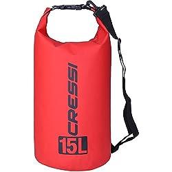 Cressi Dry Bag Mochila Impermeable Para Actividades Deportivas Unisex Adulto Rojo Claro