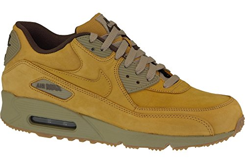 Nike Herren Air Max 90 Winter Prm Laufschuhe, Grau Bronze/Bronze-Baroque Brown
