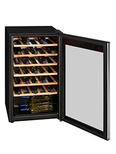 Exquisit Weinkühlschrank mit Isolierglastür WS 134-3 EA