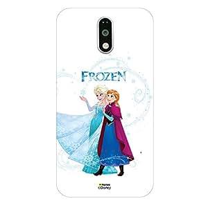 Hamee Disney Princess Frozen Official Licensed Designer Cover Hard Back Case for Lenovo K4 Note (Elsa Anna / Frozen)