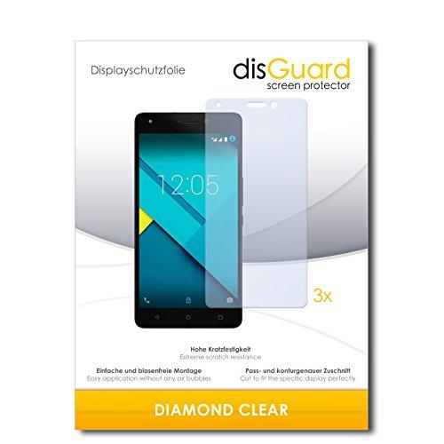 3 x disGuard® Schutzfolie BQ Aquaris M5.5 Bildschirmschutz Folie