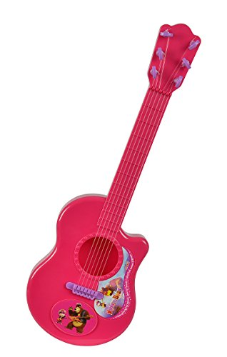 Masha und der Bär Simba 109306623–mascha y el Oso Guitarra Rosa