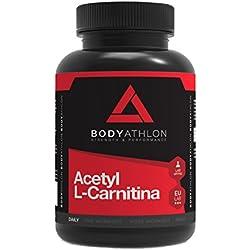 Bodyathlon Acetil L-Carnitina - 90 cápsulas 500 mg