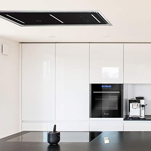 Dunstabzugshaube Deckenhaube 90cm / mit Fernbedienung/Sensor touch/LED-Beleuchtung / INTEGRA606 / KKT KOLBE