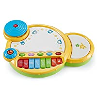 Think Gizmos Interactive Musical Drum Toy For Toddlers And babies TG722 - Fun Toys For Boys & Girls 6 Months+