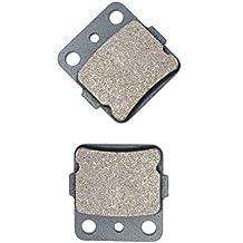 trasera Brake Pad Semi-Metallic fit for YAMAHA ATV YFM660 YFM 660 RN Raptor 01 02 03 04 05 2001 2002 2003 2004 2005 1 Pair(2 Pads)