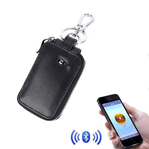 XAJGW Autoschlüssel-Schutzhülle Keyless Signal Blocker Jammer Blocking Case Brieftasche Anti Theft Faraday Cage Silent Pocket Schlüsselanhänger Schutz Schwarz (Farbe : SCHWARZ)