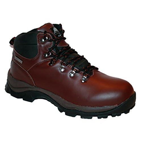 Groundwork Men's Kilamanjaro Fully Waterproof Lace Up Walking/hiking Trekking Winter Boot, 12 UK
