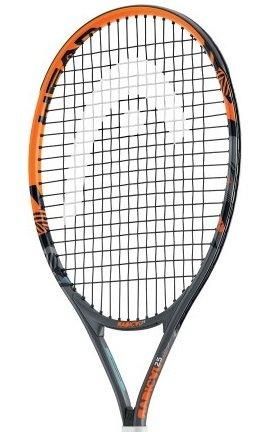 """Head Radical Jr - Raqueta de tenis, color multicolor, talla 25\"""""""
