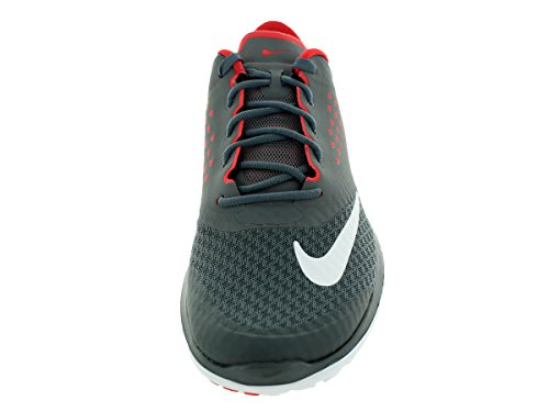 Nike - Fs Lite Run 2, Scarpe stringate  da donna Dark Grey/White-university Red