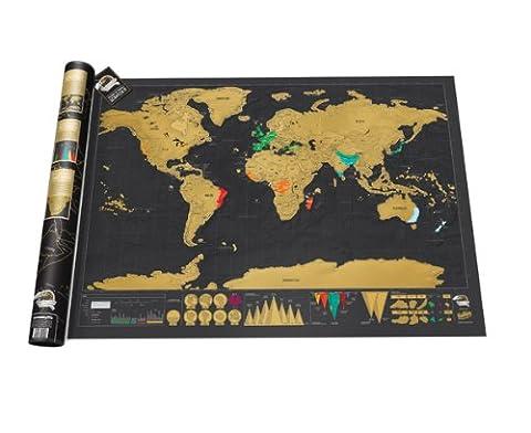 La Maison Et Le Monde - Luckies of London LUKSD Scratch Map Carte