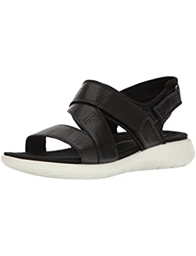 Ecco Damen Soft 5 Sandal Offene Keilabsatz