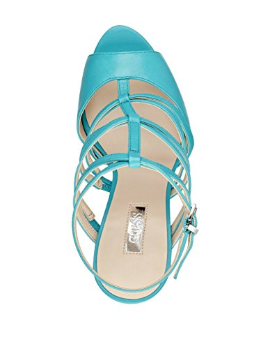 GuessHazzel - Scarpe con plateau donna Blue Leather