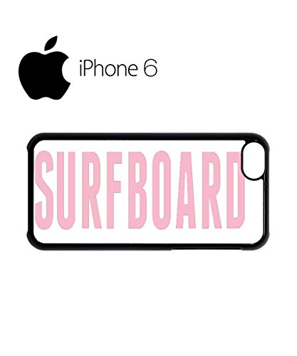 Surfboard Cool Nerd Swag Mobile Phone Case Back Cover Hülle Weiß Schwarz for iPhone 6 White Schwarz