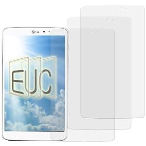 3 x Displayschutzfolie klar/wie unsichtbar für LG G Pad 8.3